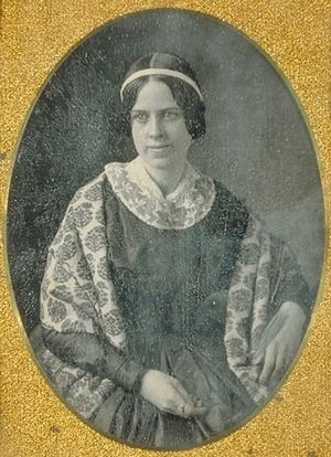Maria White Lowell - Image: Harvard Daguerreotypes b MS Am 1054 1054.5 Maria White