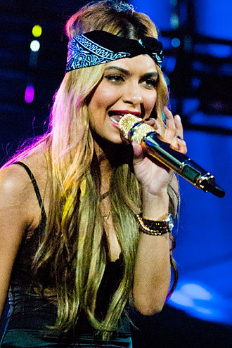 Havana Brown (musician) - Brown performing at the B96 Summerbash in Chicago on 16 June 2012.