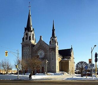 Hawkesbury, Ontario - Image: Hawkesbury St Alphonse de Liguori