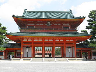 Heian Shrine - Main gate (Ōtenmon)