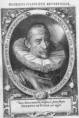 Henry Julius, Duke of Brunswick-Lüneburg - Image: Heinrich Julius Braunschweig MATEO