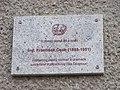 Hejčín, Mrštíkovo náměstí 12, pamětní deska - František Čech.jpg