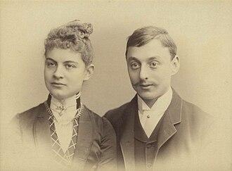 Helene Kröller-Müller - Helene Müller and Anton Kröller, ca. 1888