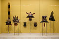 "Helmets and Masks - ""Samurai"" Exhibition - Portland Art Museum - 26 Dec. 2013.jpg"