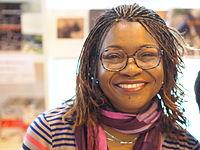 Hemley Boum - Salon du livre de Paris - 24 mars 2013.JPG