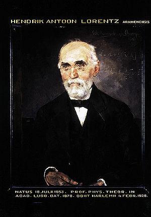 History of special relativity - Hendrik Antoon Lorentz