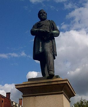 Henry Bolckow - Statue of Bolckow, Middlesbrough by David Watson Stevenson, 1881