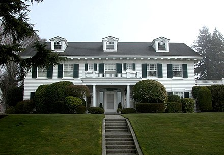 Jackson's home on Grand Avenue in Everett