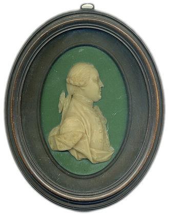 Henry Swinburne - circa 1760 wax portrait