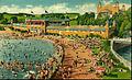 Hersheypark swimming pool sandy beach 1941.JPG