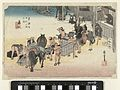 Het verwisselen van kruiers en paarden te Fujieda-Rijksmuseum AK-MAK-1608.jpeg
