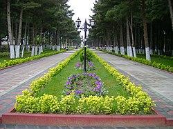 Heydar Aliyev park in Xirdalan.jpg