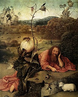 Hieronymus Bosch - St John the Baptist in the Wilderness - WGA02546