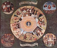 Vizi capitali wikipedia - La mesa de los pecados capitales ...