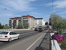 Highway 14 at Savonlinna.JPG
