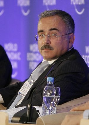 Hilmi Güler - Hilmi Güler at the World Economic Forum on Europe and Central Asia in Istanbul