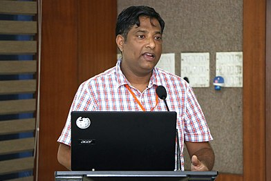 Hindi Community Salon for Wikimedia Strategy-Introduction about verious Wiki projects (19).jpg