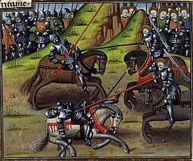 Histoires de Troyes - Combat de Thesee, Hercule et des Amazones