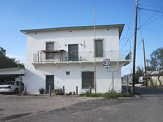 Zapata County, Texas - Image: Historic District of San Ygnacio, TX along U.S. Hwy. 83 IMG 3124