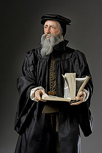 Historical mixed media figure of John Calvin by George S. Stuart.jpg
