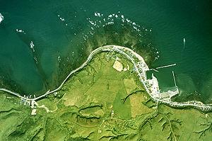 Cape Sōya - Satellite image of the cape, 1977.