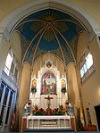 Holy Family Catholic Church (Oldenburg, Indiana) - interior, sanctuary 2.jpg