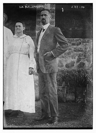 Homer Russell Salisbury - Homer Russell Salisbury (1870-1915) portrait circa 1915