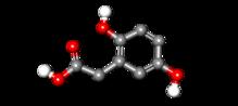Homogentisic Acid 3D balls.png