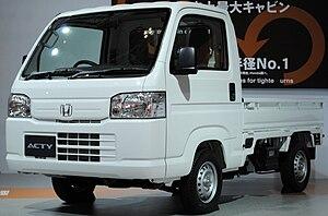 Honda Acty - Image: Honda Acty 4th