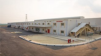 Automotive industry in Bangladesh - Manufacturing Plant of Honda Two Wheelers in Bangladesh