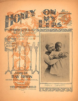 1898 in music - Image: Honey On My Lips 1898