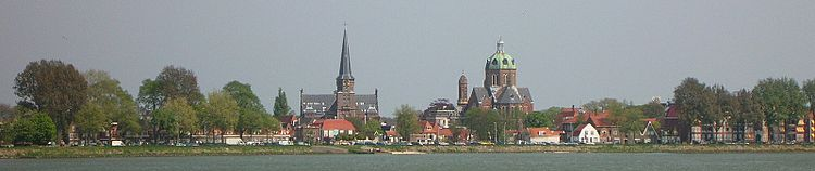 Skyline van Hoorn, gezien vanaf het Hoornse Hop