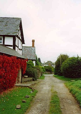 Hope Under Dinmore - some of the old village - geograph.org.uk - 129036.jpg