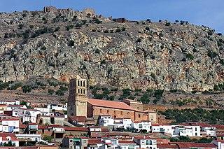 Hornachos Place in Extremadura, Spain