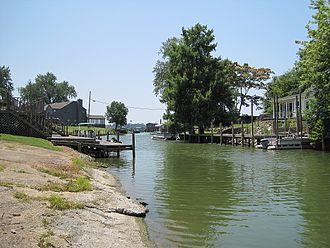 Horseshoe Lake, Arkansas - Image: Horseshoe Lake AR 04