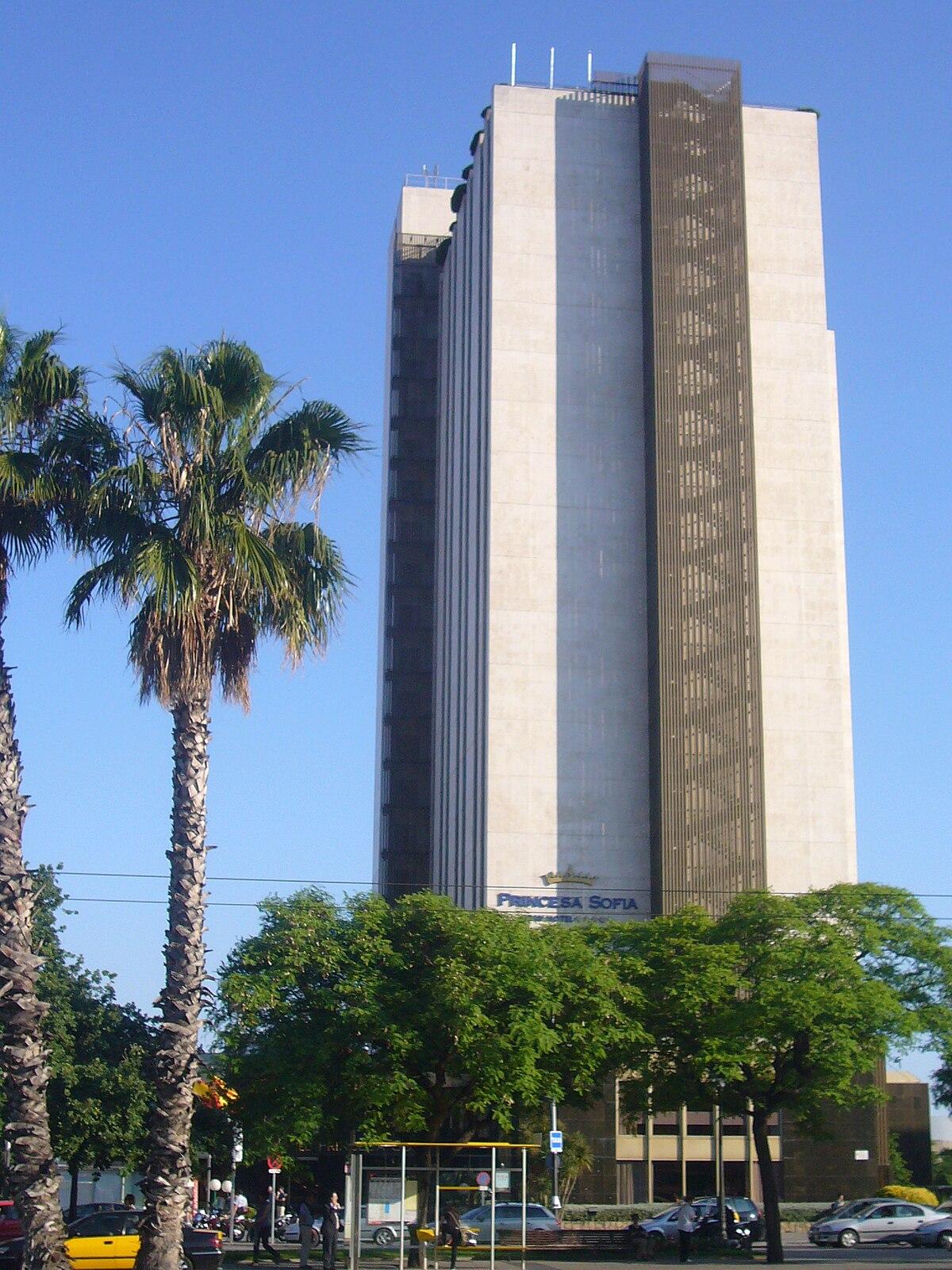 Hotel princesa sofia wikipedia for Ave hotel barcelona madrid