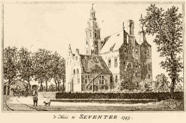 Huis Sevenaer (1745) door Jan de Beijer