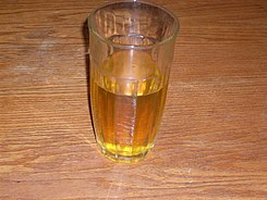 Human urine sample in a glass - 20080606.jpg