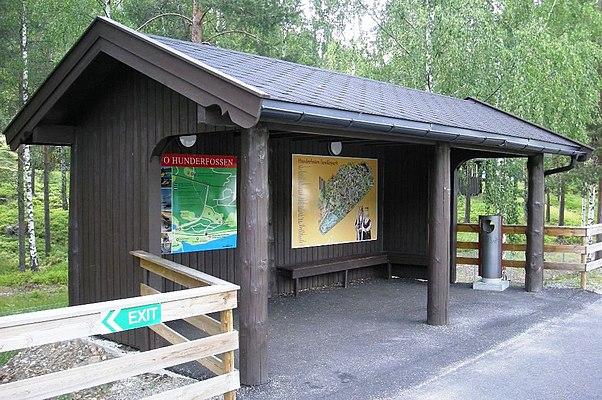Hunderfossen Station