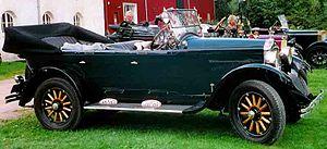 Hupmobile Touring – E - 1924 Hupmobile Touring