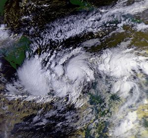 Hurricane Joan–Miriam - Hurricane Joan on October 19