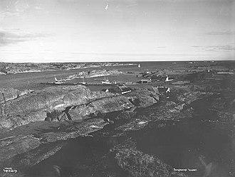 HNoMS Kjell - The islet-rich Færder area in 1915
