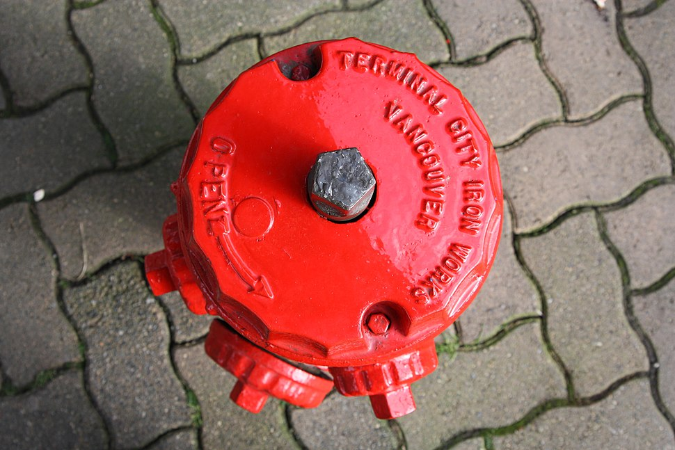 Hydrant 5 sided top nut