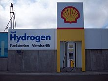 Shell hydrogen filling station