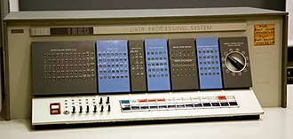 Front panel - IBM 1620 front panel