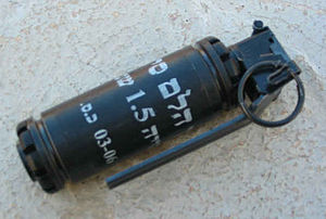 English: IDF stun grenade