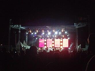 INXS - INXS live in Townsville, Australia in 2010.