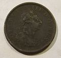 IRELAND, GEORGE III, 1805 -ONE PENNY b - Flickr - woody1778a.jpg