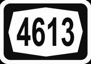 Highway 46 (Israel) - Image: ISR HW4613