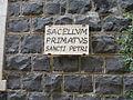 ISRAEL, Capernaum, Tabgha, Church of the Primacy of St. Peter; ID is 16-1252-103 (5).JPG